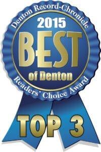 Best of Denton 2015 Ribbon