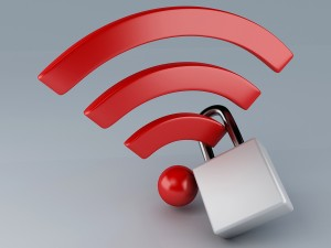 security wifi. internet concept